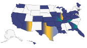 Statistics for all states participating in CSLN